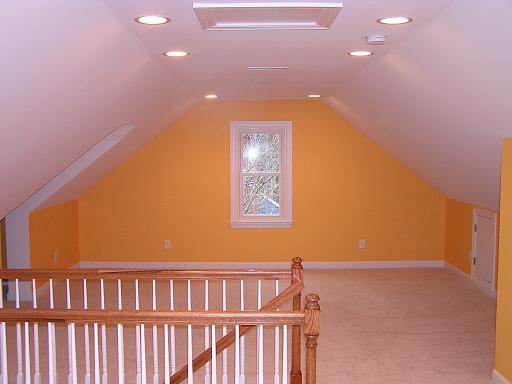 Cjc custom homes llc attic third floor renovations for Cj custom homes