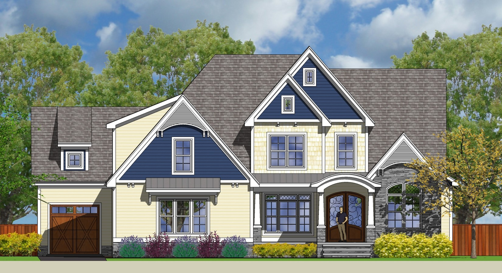Cjc custom homes llc custom crafted homes for C m custom homes